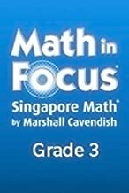 Math in Focus: Singapore Math, Spanish: Student Workbook Grade 3 Book A (Spanish Edition)