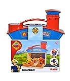 Simba- Feuerwehrmann Bombero Sam Juego de Rescate de Agua con 2 Figuras, Color carbón, 0 (109251033)