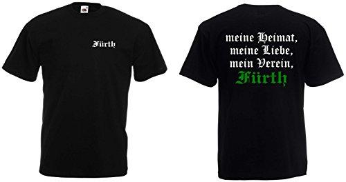 World of Shirt Herren T-Shirt Fürth Ultras Meine Heimat