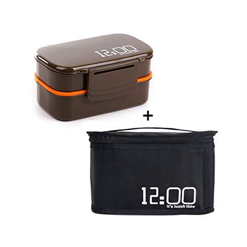 Foshuo Lunch Box Bento Box Portatile Lunch Box Picnic,Contenitore per Alimenti Portatile Bento Box Lunch Box Set Bento Box Contenitore per Alimenti Contenitore per Il Pranzo Pranzo cene