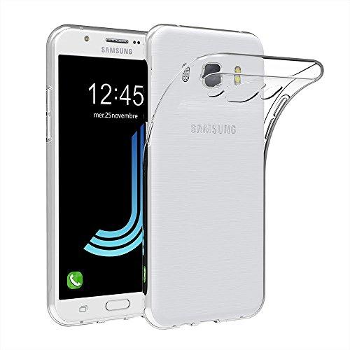 MaiJin Case for Samsung Galaxy J5 2016 (5.2 inch) Soft TPU Rubber Gel Bumper Transparent Back Cover
