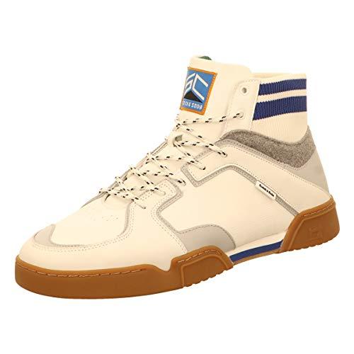 SCOTCH & SODA FOOTWEAR Tarda, Zapatillas Altas Hombre, Blanco (Off White S20), 41 EU