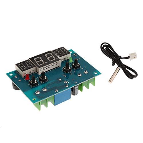 XUSHEN-HU Temperatura controlada por sensor NTC impermeable 12V DC Módulo de relé para Digital