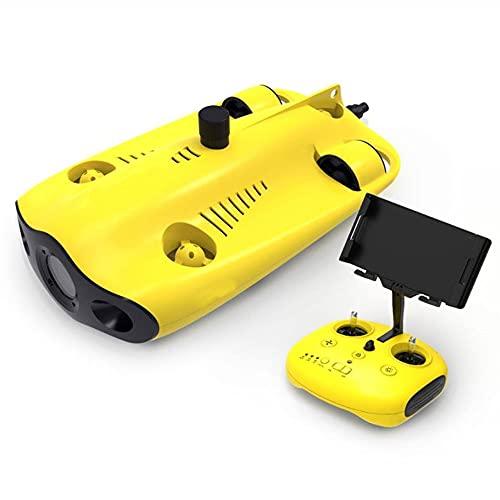 JINFENFG Unterwasser-Detektor 4K High-Definition Tauchen Fotografie Inspektionsmaschine Discovery Suche und Rettung RC-U-Boot-Drohne Tauchtiefe bis zu 100 Meter Ausdauer bis zu 4 Stunden
