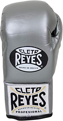 Cleto Reyes Official Fight Boxing Gloves - Titanium - 10oz