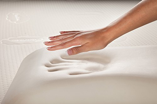 Atlantic Furniture Sleep Soft Memory Foam Pillow, All, White