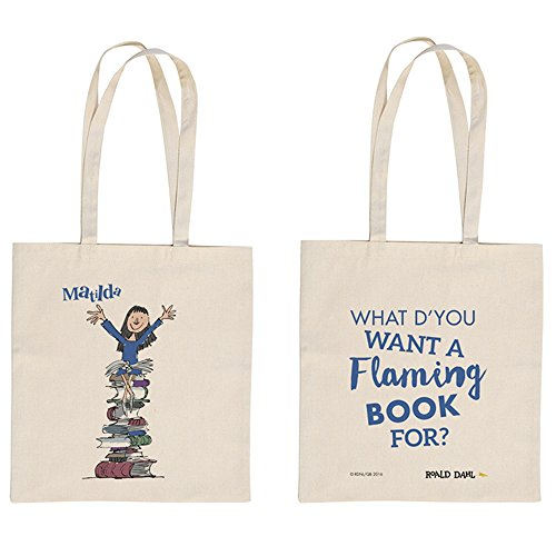 Roald Dahl'What do You Want to Read a Flaming Book for?' Tote Bag