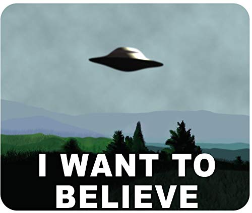 X-Files Mouse Pad - I Want to Believe - 10' x 8.5' Standard Size