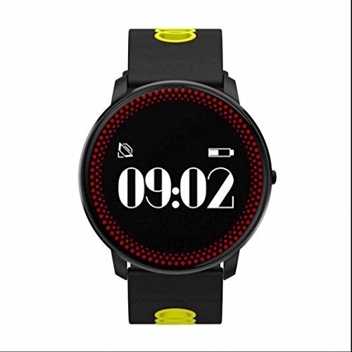 Smart Bracelet sport Orologio fitness Bluetooth Braccialetto,Cardiofrequenzimetro,modalità multi-sport,Activity Tracker,Alarm Management,Sleep Monitor,per iphone/samsung/HTC/HUAWEI/il Sistema IOS/Android,Braccialetto