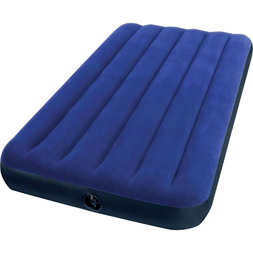 Intex Twin 8.75' Classic Downy Inflatable Airbed Mattress...
