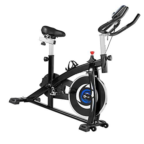 Cyclette Con trasmissione a cinghia silenziosa Spin bike Sensori palmari Cyclette diadora Per la costruzione muscolare