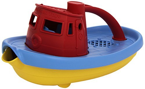 Green Toys My First Tug Boat, Red by Green Toys