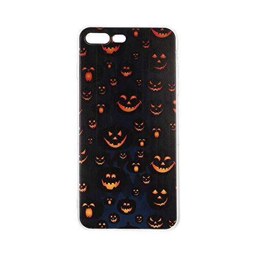 ABOOFAN 1 unid Halloween calabaza teléfono cubierta Tpu Shell teléfono caso iPhone7/8plus teléfono accesorios