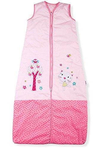 Baby-Schlafsack, Hübscher Kitty Garten, Kiddy Kaboosh Verschiedene Größen, Sommergewicht, 1.0 Tog, Größe 2: 3-12 Monate