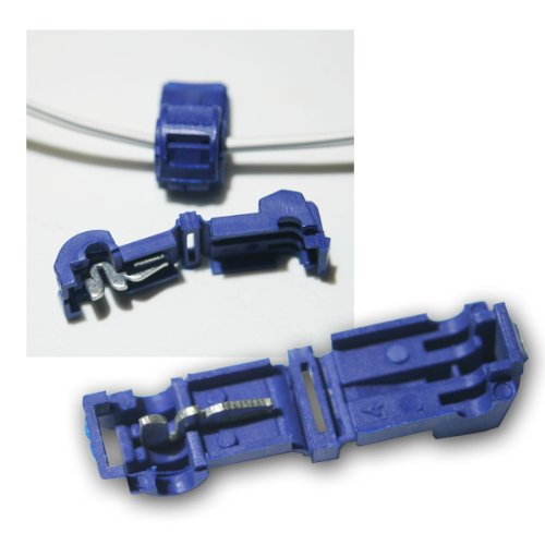 world-trading-net 10 Abzweigverbinder fü Kabelschuhe BLAU 1,5-2,5mm²