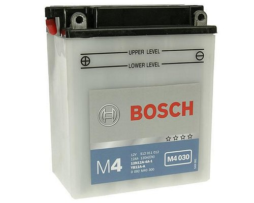 Preisvergleich Produktbild Akku Bosch 12 N12 a-4 a-1 / yb12 a-a VT 500 C Shadow Typ PC08 Baujahr 19831984