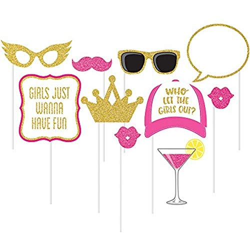 10-Piece Photo Props For Party, Girls Night Out