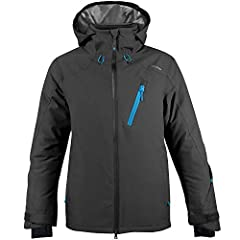 MOVEMENT WHERE YOU WANT IT: Get that first chair, fresh powder feeling and be among the first to try the Dover ski jacket. Dynamic motion articulated material in the upper back, shoulder and sleeve. Ergonomically designed for a full range of motion a...