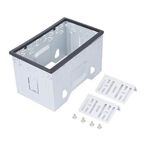 LSLYA - Kit de Montaje Universal de Doble DIN para 2 Dash Kit de Radio estéreo de Coche y DVD