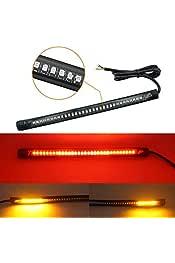 1/par luz intermitente de moto fuego Stop Freno 12/V 13/Indicador Rojo Amarillo fxco luz intermitente de moto fuego Stop Freno