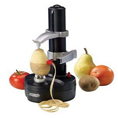 ZHYP Goods & Gadgets Elektrischer Kartoffelschäler Apfelschäler Gemüseschäler Obstschäler Elektro Schäler für Obst & Gemüse