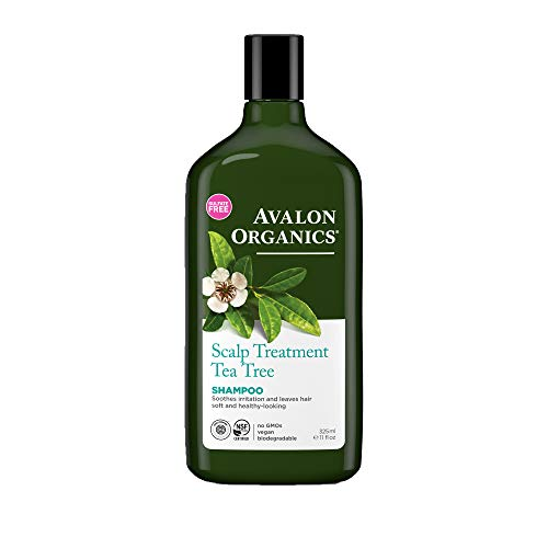 Avalon Organics Tea Tree Scalp Treatment Shampoo 325ml