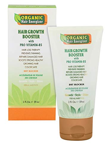 Organic Hair famous Energizer Growth With NEW before selling Booster Vitamin