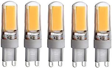 LED Lamp 5 Pcs,LED Bulbs G4 / G9 COB 3W 220-250 Lm Warm White/White T Dimmable/Decorative LED Bi-pin Lights AC 220-240V Gr...
