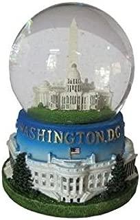 President Souvenirs Famous Building of Washington, D.C. Musical Snow Globe