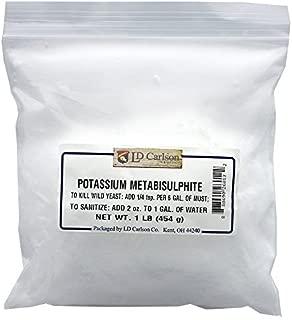 Potassium Metabisulfite - 1 lb.
