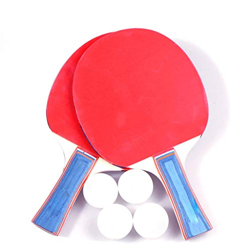Why Choose Kuerqi Indoor Outdoor Courtyard Beginner Ping-Pong Table Tennis Racket 2PCS Paddle Bat 4 ...