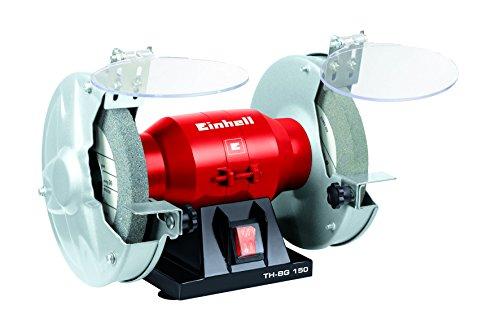 Einhell Doppelschleifer TH-BG 150 (150 W, Drehzahl 2950 min-1, 230 V/50 Hz, inkl. Grob- und Feinschleifscheibe)