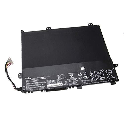 vhbw Batería Compatible con ASUS VivoBook E403NA-FA049T, E403NA-FA087T, E403NA-FA105T, E403NA-FA106T Notebook (4800mAh 11,4V polímero de Litio)