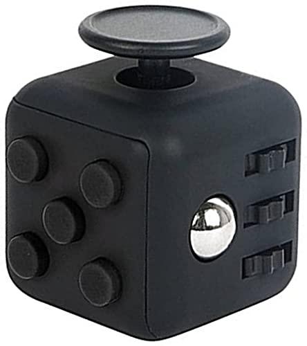 Blackbox Cubo AntiEstres - Ayuda a Calmar la Ansiedad y el Estrés en Niños y Adultos - Diseño especial para personas con déficit de atención, desesperación y ansiedad. Cubo Anti Ansiedad.- Color Negro