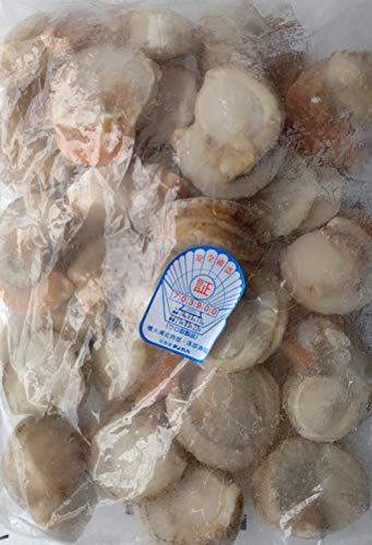 生食用 ボイル帆立 ( L ) 1kg NET800g ( 21-25個 ) 北海道産 ほたて ホタテ 帆立