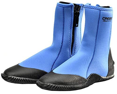 Cressi Unisex-Adult Isla Boots Neoprenowe buty do nurkowania ,Niebieski ,M ,WLX432022