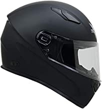 Vega Helmets 6100-059 Ultra Big Head Motorcycle Helmet for Men & Women w/ Large Heads or Cheeks Matte Black 5XL