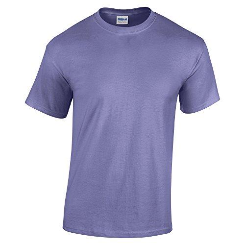 Gildan 5.3 oz. Heavy Cotton T-Shirt, Large, Violet