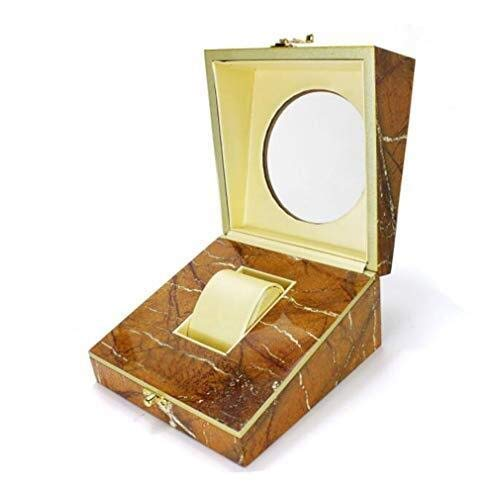 KAIBINY Caja de Reloj Reloj del Reloj del almacenaje Premium Box joyería de Madera Caja de Almacenamiento Caja de Regalo
