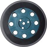 Poweka Hart-Schleifteller für Bosch PEX 12, PEX 125 und PEX 400 A(Ø 125 mm) - 8-Loch Rundfuß Stützteller Ersatzteil Schleifteller 1pc