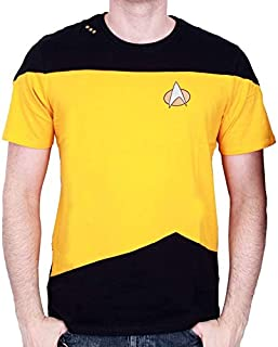 Tshirt homme Star Trek - Uniform Kirk Yellow - Legend Icon