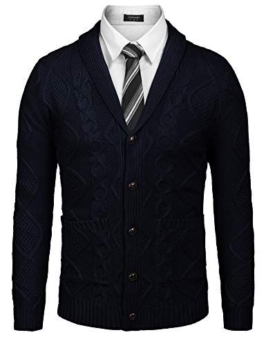 Men's Sweaters With Shirt Collar Attached
