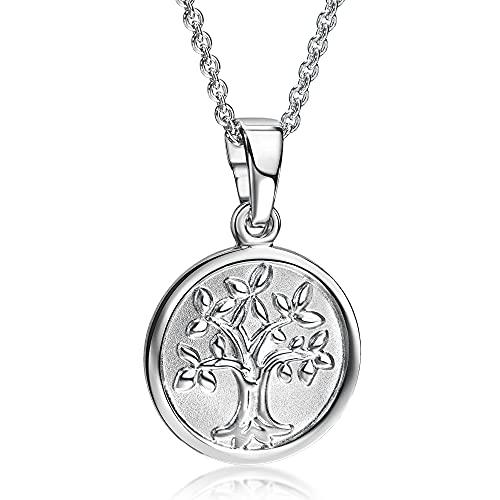 XAANA Collar con colgante Niña plata - AMZ0495