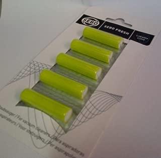 Sebo Genuine Air Fresheners - Pack of 5 Capsules - Suitable for Any Sebo Vacuum Cleaner - 0496er - Citrus Scent