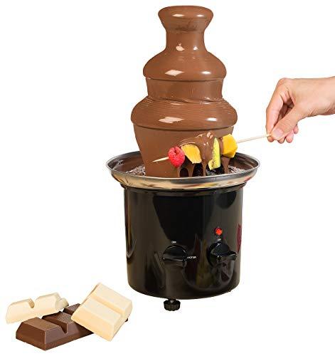 Fontaine à chocolat à 2 niveaux - 275 W [Rosenstein & Söhne]