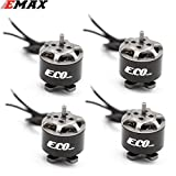 Parts & Accessories 4Pcs EMAX ECO 1106 2~3S 4500/6000KV CW Brushless Motor for FPV Racing Drone RC Quadcopter Multicopter RC Parts Spare Parts Accs - (Color: 4500KV 4Pcs)