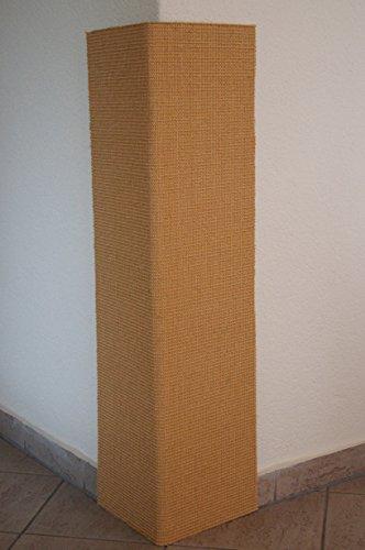 Rudloff Kratzecke 1a Sisalteppich auf Trägermaterial aufklappbar 100 x 50 cm - Flügelbreite 25 cm