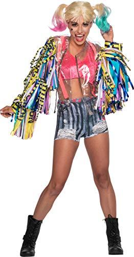 Rubie's Damen DC Comics Birds of Prey Harley Quinn Costume Kostüme für Erwachsene, Siehe Abbildung, Medium