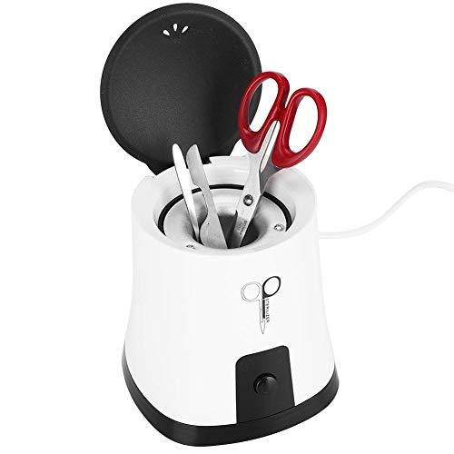 Boîte de stérilisateur d'ongle, 100W haute température outil de manucure tasse de nettoyage boîte de nettoyage automatique pour ciseaux pince à ongles coupe-ongles(#1)