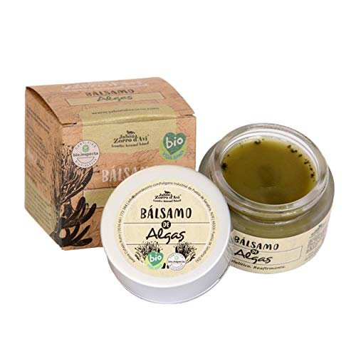 Jabón Zorro D'Avi   Crema Hidratante Corporal   Bálsamo ecológico de Algas   50 ml   Reafirma y tonifica   Crema para Cuerpo   Piel de Naranja y celulitis   Fabricado en España